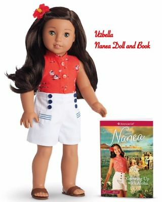 American girl Doll Nanea and Book New in Box 18 inch Doll BEFOREVER