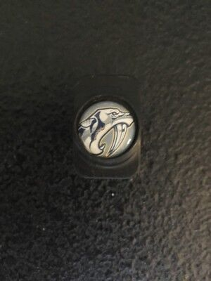Warrior Nashville Predators Pro Stock Hockey Stick Butt End Cap Plug