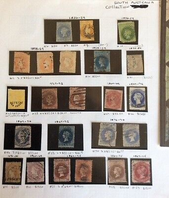 South Australia State Early Collection # 3 9 10 11 12 21 23 27 32 Etc High Cat