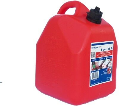 Gasoline Can 5 Gallon Plastic Container Gas Tank Self Venting Spill Proof