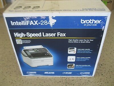Brand New Brother Intellifax-2840 High Speed Momo Laser Fax Machine Ships Fast