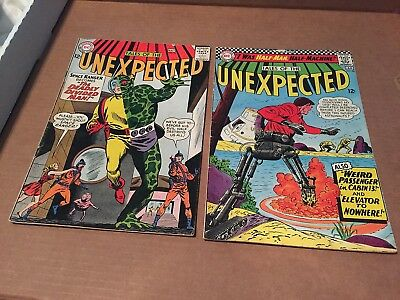 Lot Of 3 Dc Silver Age Comics- Tales Of The Unexpected #76 #98 & #101