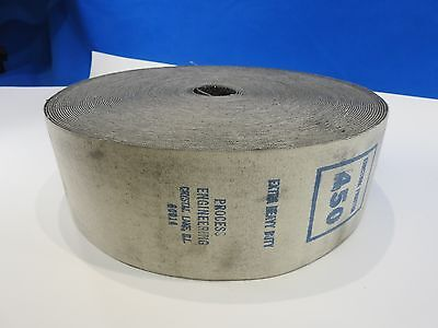"Sia Industrial Graphite Coated Canvas Roll Belt Sander Backer 4"" Wide by Yard"