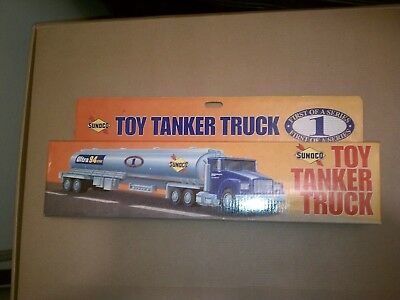 LOT OF 12 SUNOCO TRUCKS SET - 1st 12 IN SERIES + ACCESSORIES - NEW IN PACKAGE
