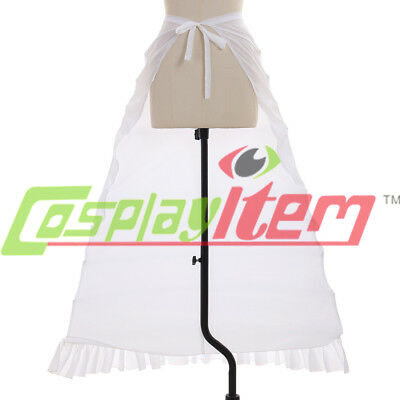 Petticoat Renaissance Gown Costume Ladies Dickens Dress Bustle Cosplay Props