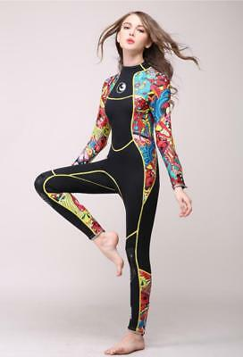 2017 New  Long sleeved Siamese diving suit