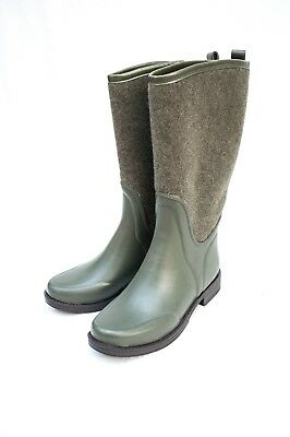 62b82da8b5f UGG REIGNFALL WATERPROOF Boots, olive and rubber outsole (size 7)