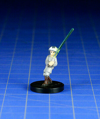 Star Wars miniatures minis Jedi Academy Youngling #18 & card