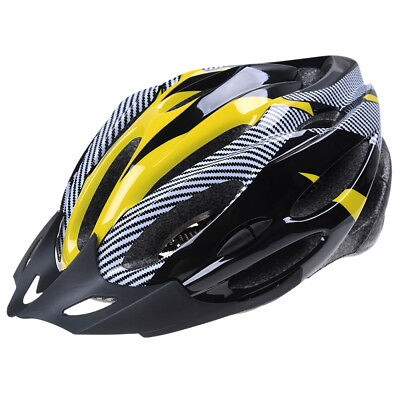 Cycling Bicycle Bike Helmet Adjustable Protection Amarillo B8T3
