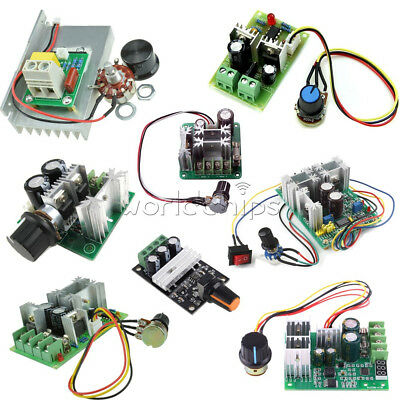 3/10/15/20A PWM 6-28V/10-60V/6-60V/12-40V/6-90V/12V 80W Speed Control Switch