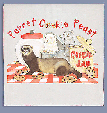 Ferret Dish Towel