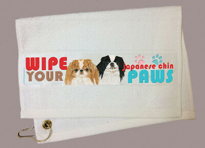 Japanese Chin Paw Wipe Towel