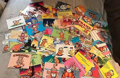 NEW Vintage Garfield Cat Postcards ~ Huge Lot