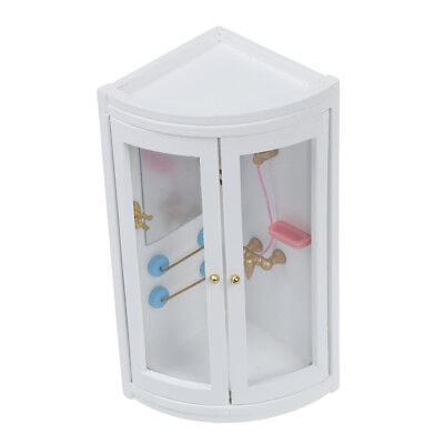1:12 Childen Doll house Miniature Bathroom Furniture Shower Room PK