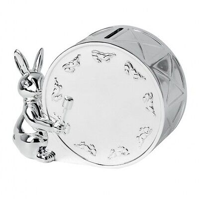 Bunnykins Silver Money Box Baby Money Box New In Box
