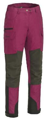 Pinewood 9343 Dog Sports Hose Damen Fuchsia/Wildlederbraun (550)