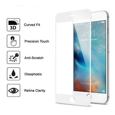 3D FULL Cover 9H TEMPERED GLASS Screen Protector for Apple iPhone 7 7S