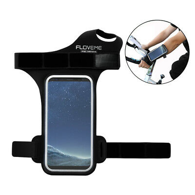 Running Jog Ride Sport Armband Holder Pouch Case with Thumb band for Samsung S8