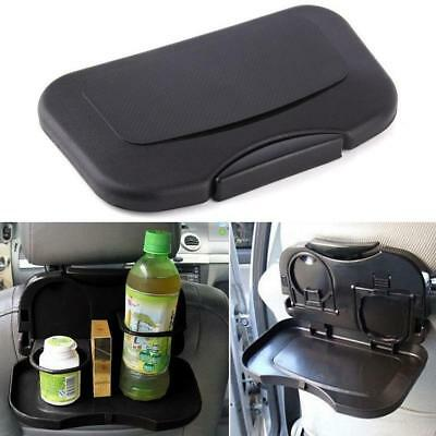 HOT Folding Auto Car Back Seat Table Drink Food Cup Tray Holder Stand Desk BT