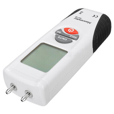 LCD Digital Manometer Differential Gauge Air Pressure Meter Gauge +/-2Psi D5U7