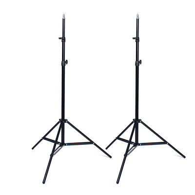2x Pro Photo Photography Studio 2M Light Stand Tripod for Lighting Kit PK