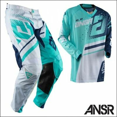Motocross,enduro,quad,completo Answer  Elite Teal 2018