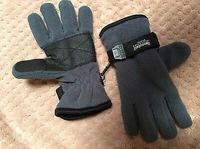 Thinsulate kids warm winter gloves size 8-14 yrs ski like new