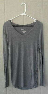 Liz Lange for Target Long Sleeve Maternity Shirt, Size L