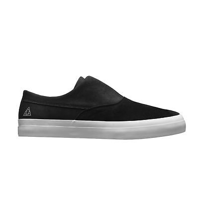 Huf - Dylan Slip On Mens Shoes Black/Black/White