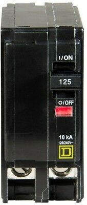 Circuit Breaker Square d Pole Amp Box 1 Switch Safety Fusible Fault Disconnect
