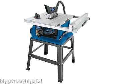 """Scheppach Hs105 Solid 10"""" Saw Table - Professional Unit Comes With Base"""