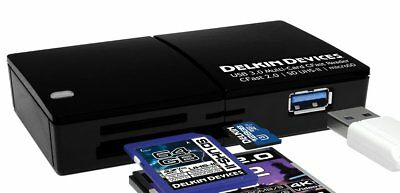 Delkin USB 3.0 CFast Multi-Slot Reader