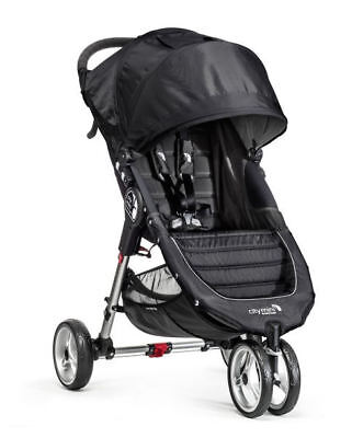 Baby Jogger City Mini Pram - Black/Grey