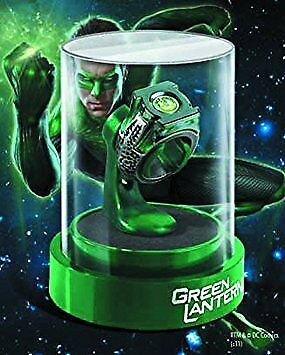 Green Lantern Prop Replica Power Ring Display Case Licensed Noble Collection