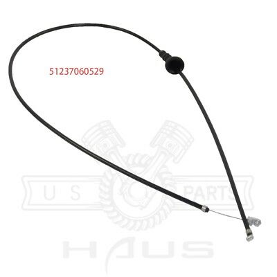 Engine Hood release cable Bowden cable FOR BMW E90 325i E87 120i 51237060529
