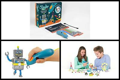 3Doodler Start Essentials 3D Printing Pen Set Creativity Learning Play Toy Draw