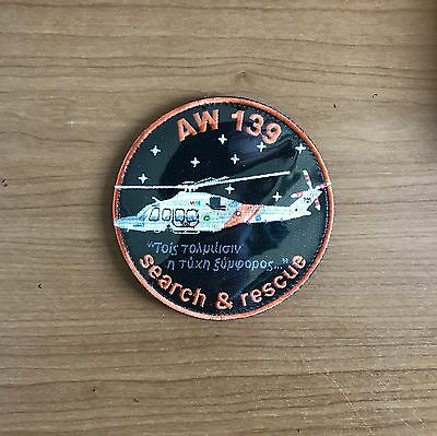 AW-139 Patch of 460 SAR Squadron - Cyprus Air Force