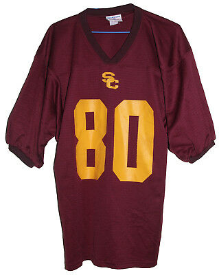 Usc Trojans #80 College Football Teamwork Jersey Size: X-Large