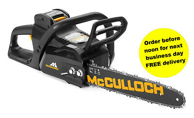 McCulloch Li40 CS Chainsaw Brand New includes Battery and Charger