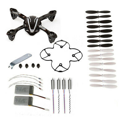 For Hubsan X4 H107L 8-in-1 Quadcopter Black Spare Parts Crash Pack PK