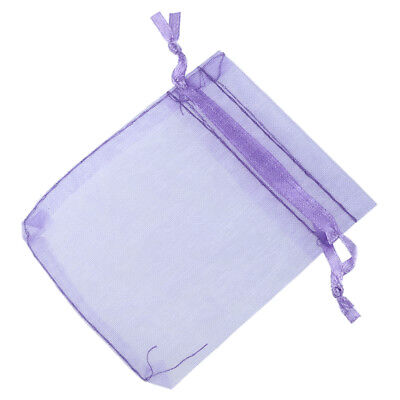 100 Organza Gift Bags Jewellery Pouches XMAS Wedding Party Candy Favour WS