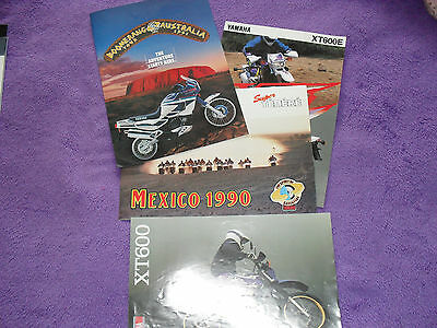 Yamaha motorcycle brochures