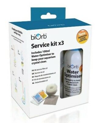 biOrb Service Kit with Water Optimiser Pack of 3
