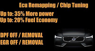 Volvo Ecu Remap / Remapping / Engine Chip Tuning / Dpf / Egr Removal Northants
