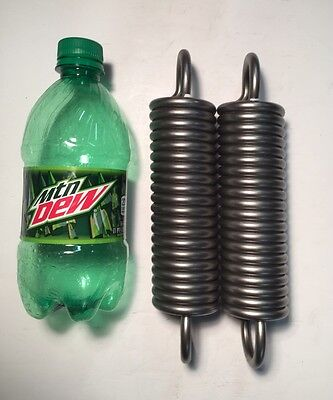 """.283"""" Wire Heavy Duty Extension Spring Lot Of 2"""