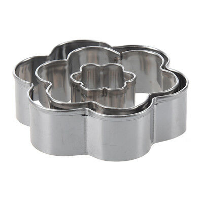 Flower Plum Blossom Cut Outs Cookie Cutters, Set of 3 PK