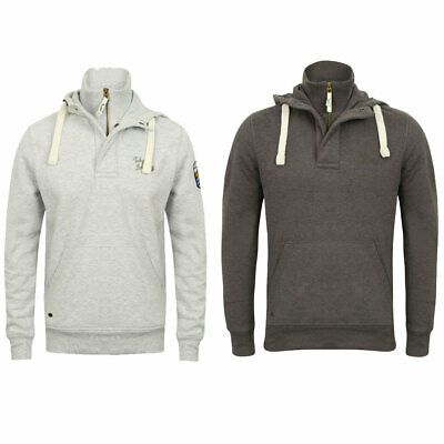 New Mens Tokyo Laundry Hanover Cotton Rich Zip Up Contrast Hoodie Size S XXL