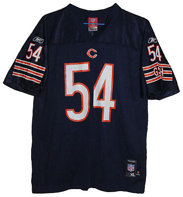 Nfl Chicago Bears #54 Brian Urlacher Reebok Football Jersey Size: Medium