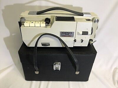 Gino 900 Convertible Bell KO-ON CO LTD Super 8 Film Projector Made In Japan