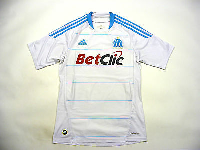 Olympique Marseille 2010 / 2011 Home Kit Jersey Shirt Maillot